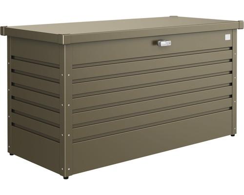 Auflagenbox biohort FreizeitBox 130, 134 x 62 x 71 cm, bronze-metallic