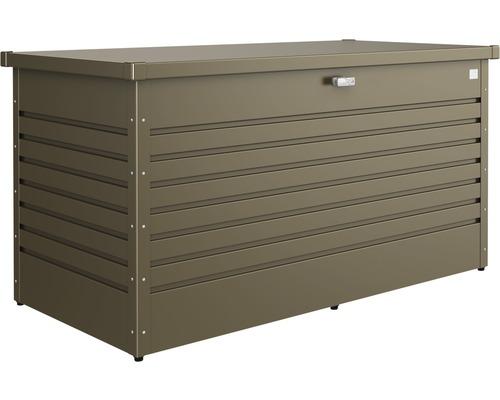 Auflagenbox biohort FreizeitBox 160, 160 x 79 x 83 cm, bronze-metallic