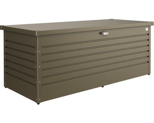 Auflagenbox biohort FreizeitBox 180, 181 x 79 x 71 cm, bronze-metallic