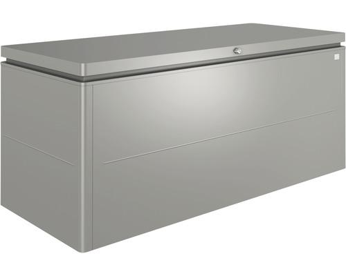 Auflagenbox biohort LoungeBox 200, 200 x 84 x 88,5 cm, quarzgrau-metallic